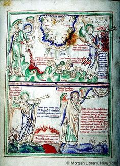 Apocalypse, MS M.524 fol. 4v - Images from Medieval and Renaissance Manuscripts - The Morgan Library & Museum