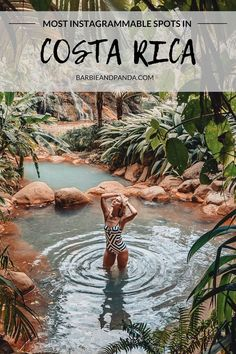 4 Days in Costa Rica - Nora Hslg - Nature travel Costa Rica Travel, Jamaica, Barbados, Belize, Costa Rica Waterfall, Cost Rica, Places To Travel, Places To Visit, Springs Resort And Spa