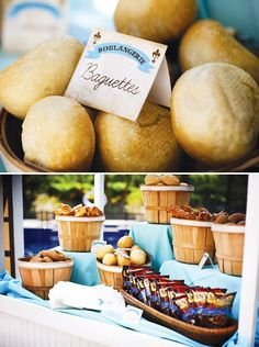 Beauty and the Beast Party Belle's village bread shop