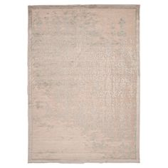 Showcasing a lustrous weathered motif, this art silk and chenille rug effortlessly anchors your dining table or living room seating group.  ...