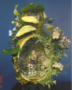A Hanging Gourd House with Fairy