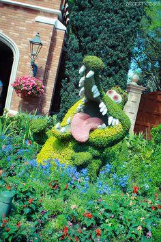 Tick Tock ~ Epcot International Flower and Garden Festival