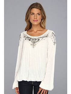 Free People Top in Ivory. Love it!