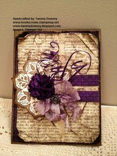 www.lovetocreate.stampinup.net  www.tammydowney.blogspot.com
