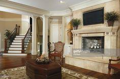 Stock Photo : Luxury Family Room