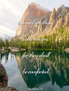 Comforting Bible Verses Matthew 5:4