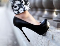 Is there love at first sight?  Yes, if it's shoes...