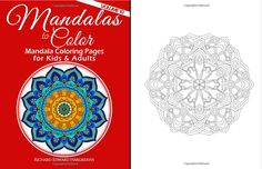 This Is Volume 10 In The MANDALA COLORING BOOKS Series It A Similar Level Of Difficulty As Volumes 1 4 And 7 Which Fairly Easy Suitable For