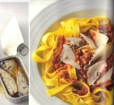 A Radically Delicious Recipe: Golden Fettuccine with Sardines, Fennel & Saffron  http://rozannegold.wordpress.com/2012/05/16/a-radically-delicious-recipe-golden-fettuccine-with-sardines-fennel-saffron/#
