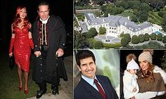 Businessman James Stunt, the husband of Formula 1 heiress Petra Eccleston, is alleged to have launched a 'tirade' of homophobic abuse at butler Carl Hajik, who is gay, at the LA mansion.