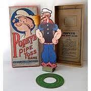 Popeye Toss Game