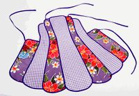 Oilcloth apron required to begin the baking season!