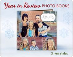 MixBook.  Create a photo book with some text.  Very attractive.  The site focuses on ordering and printing, but you can save and embed your book creations for sharing online.  Otherwise a great site for making calendars, posters, cards, etc