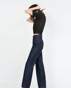HIGH-WAIST BOOTCUT JEANS-High Waisted-Jeans-WOMAN | ZARA United States