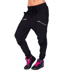 Adult Multi Zipper Harem Pant