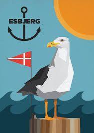gamle danske reklame plakater -