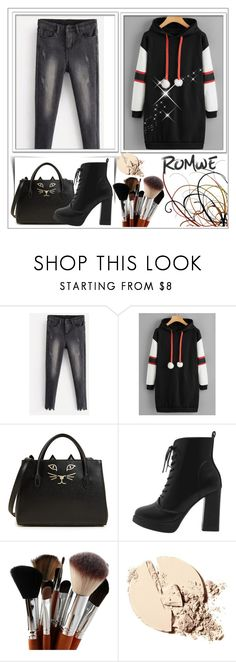 """""""ROMWE CONTEST"""" by slika ❤ liked on Polyvore featuring Charlotte Olympia"""