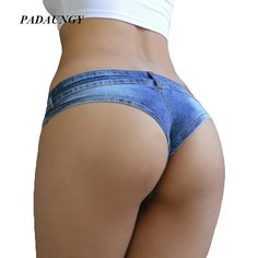 PADAUNGY Mini Super Shorts Night Clubwear Short Jeans Booty Hotpants Sexy Women Pantalon Jean Femme Party Denim Pants Jeggings