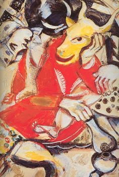 1911 - Marc Chagall - To My Betrothed