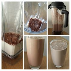 I have a real problem with the name of this shake. Years of conditioning will do that. Fat is bad bad bad! So how on earth can I be comfortable drinking something called a chocolate fat shake? Well...