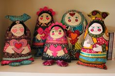 Dolls inspired by my imaginary world and friends! www.cathintheattic.com