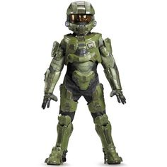 Disguise Halo Master Chief Ultra Prestige Dress-Up Set - Kids Halo Halloween, Boy Costumes, Halloween Fancy Dress, Halloween Costumes For Kids, Children Costumes, Scary Costumes, Adult Halloween, Halloween Stuff, Halloween Themes