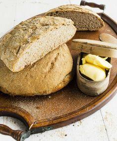 Baking/Leivonta: Finnish Country bread/Maalaisleipä