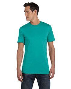 Bella + Canvas Unisex Jersey Short-Sleeve T-Shirt 3001C TEAL