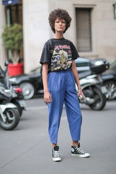 a0e96b9af3ad Elle AU    Street Style At Fall 2016 Couture Fashion Week