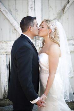 Wedding kiss :)