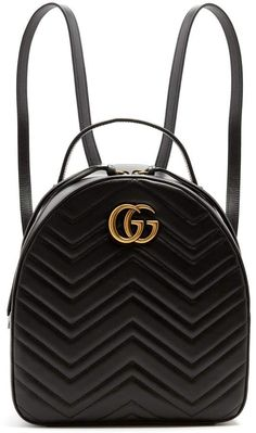 cc836ed55b9e GUCCI GG Marmont quilted-leather backpack  gucci  ShopStyle  MyShopStyle  click link for more information