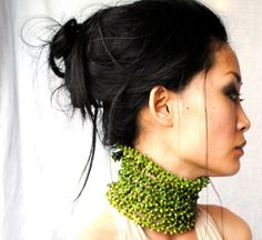 a living, growing necklace