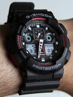 Casio G-Shock X-Large Combi GA100 Watch Review