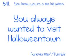 MY ULTIMATE DREAM! <3 Halloweentown