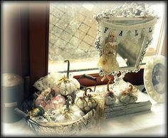 shabby chic Halloween - my shabby white home