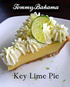 newport beach: tommy bahama's key lime pie recipe Best Key Lime Pie, Key West Key Lime Pie Recipe, Key Lime Pie Bars, Keylime Pie Recipe, Pie Recipes, Dessert Recipes, Copycat Recipes, Special Recipes, Summer Desserts