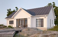 Classic collection: traditional Scandinavian style log homes for quality living - Honka Scandinavian Cottage, Scandinavian Style Home, Cottage House Plans, Cottage Homes, Prefab Homes, Log Homes, Log Cabin Holidays, Cottage Exterior, Cafe Exterior