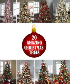 Check out these 20 Amazing Christmas Tree Ideas #christmas #tree #ideas