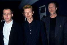 Gary Oldman, David Bowie, and Christopher Walken.
