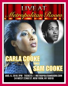 Sam Cooke's daughter.... the fabulous Carla Cooke was ...