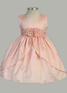 Smock Couture Pink Sleeveless Formal Dress - Toddler & Girls ...