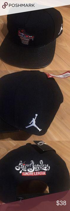 Jordan sundae SnapBack hat New with tags black limited edition sundae SnapBack hat. Jordan Accessories Hats