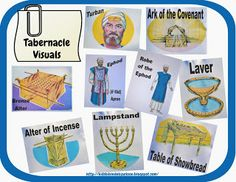 High Priest's clothes and the tabernacle and how it was set up. God told the people exactly how He wanted them to set it up