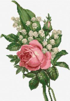 Gallery.ru / Фото #1 - Ландыши и розы - yasochka61