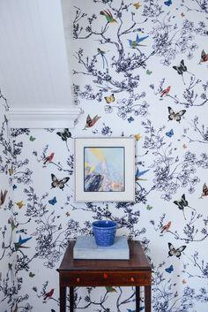 Bradley Huson Sneak Peek tour on Design*Sponge ~ETS #butterflies