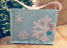 Borsa Frozen Elsa in feltro...