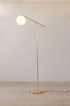 Globe Floor Lamp - Urban Outfitters I need this. Modern Floor Lamps, Mid Century Floor Lamps, Beautiful Lamp, Globe Floor Lamp, Floor Lamp Bedroom, Flooring, Modern Lamp, Lamps Living Room, Floor Lamps Living Room