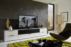 Flat Screen, Modern, Medium, Furniture, Home Decor, Living Room Tv, House, Lighting, Blood Plasma