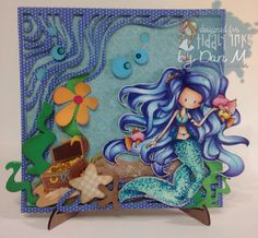 Tiddly Inks Challenge: Challenge #188- Under the sea.....