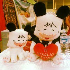 Adorables #peluches italo-japoneses :) #pelucheando